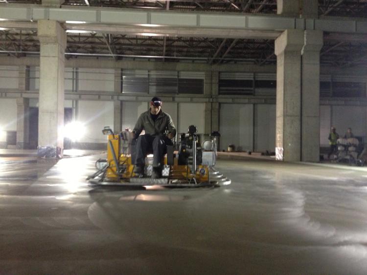 Подови настилки от шлайфан бетон и приложението им в съвременното строителство